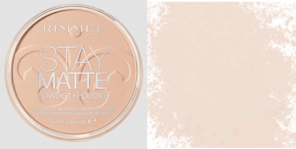 Rimmel stay matte powder budget make-up